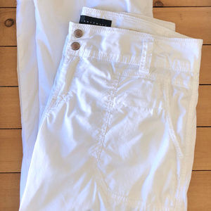 White Cotton SANCTUARY Freestyle Cargo Pant US 10